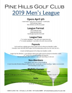 2019 Mens League