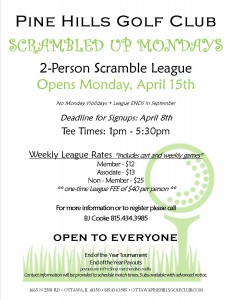 2019 Scrambled up Mondays